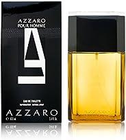 Azzaro Pour Homme - perfume for men, 100 ml - EDT Spray (Refillable)