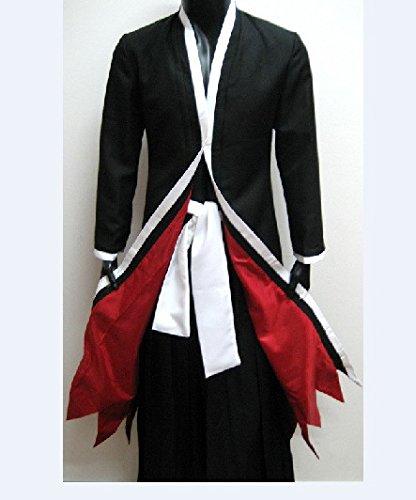 CoolChange Bleach Bankai Kostüm Ichigo Kurosaki Cosplay (L) (Hollow Ichigo Kostüm Mit Maske)