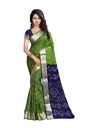 Shree Art Silk Saree (Ssb-S3080-01_Multicolor)