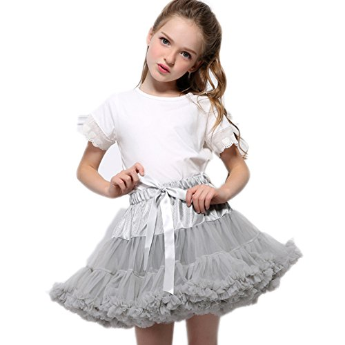 FOLOBE Baby Girl's flauschige Pettiskirt Kleinkind Kid Petticoat (Halloween 1950er Dekoration Jahren)