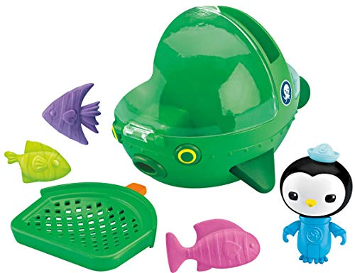 Octonauts Gup E - Set de barco y peces de juguete