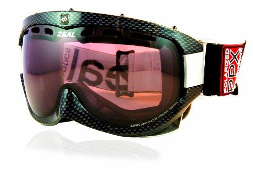 Zeal Optics Limited Edition Link Sphärische PPX Photochromatisch und polarisierten Brillen (Ski-optic Snowboard-schutzbrillen)