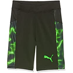 Puma Active Cell Baloncesto Pantalones Cortos, infantil, ACTIVE CELL Basketball Shorts, Puma Black, 17 años (176 cm)