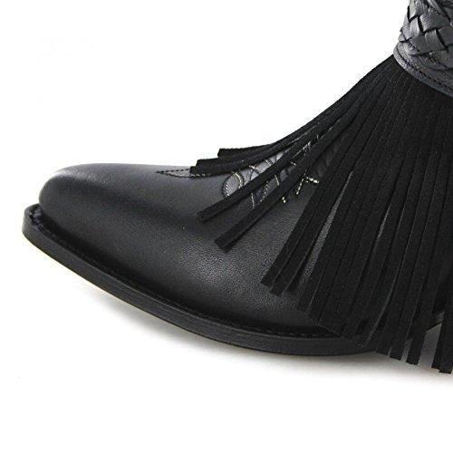 11790 Negro Fashionstiefelette Schwarz Sendra Boots Stiefel TxgqxEP