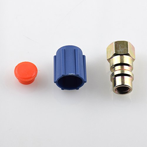 Quick-seal-adapter (sharplace 2x 7/16Low Klimaanlage Conversion Adapter R12AUF R134A Quick Disconnect)