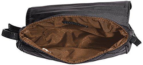 Bogner Elba Male Sac à bandoulière 0Male-008-0 Noir - Schwarz (black/black 008)