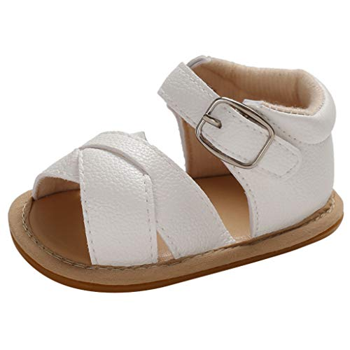 Elsta Mädchen Freizeitschuhe Hausschuhe, mit Klettverschluss Weich Strandschuhe Einzelne Schuhe Segeltuchschuhe Baby Badeschuhe Flache Schuhe Sport Outdoorschuhe