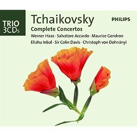 Tchaikovsky: The Complete Concertos