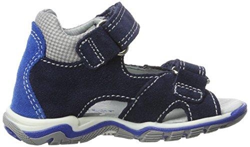 ... Richter Kinderschuhe Jumbo, Chaussures Marche Bébé Garçon Blau (atlantic /lagoon/rock)