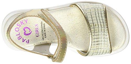 Pablosky  444680, sandales fille Or