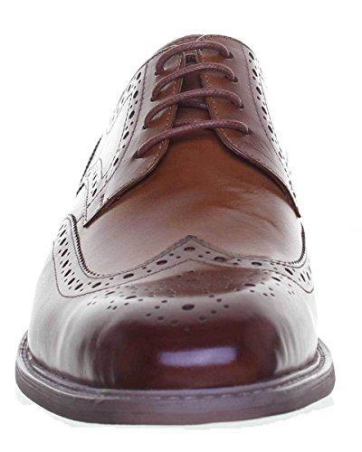 Marrón De Hombre Derek Con Vestir Justin Cordones Zapatos Reece gP0wAvq