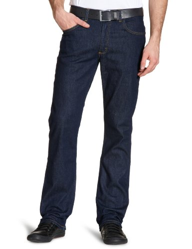 Lee Brooklyn-Straight, Jeans Uomo, Blu (One Wash/Stretch), 46 IT (33W/32L)