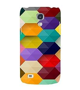PrintVisa Prisma Colorful Pattern 3D Hard Polycarbonate Designer Back Case Cover for Samsung Galaxy S4