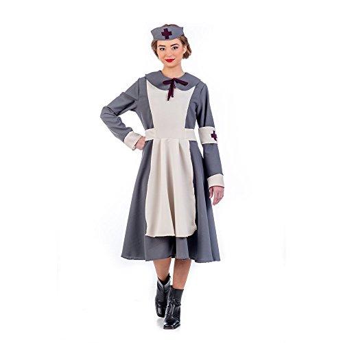 Kostüm Fliegerinnen - Limit Sport Vintage Fliegerin Kostüm für Damen M