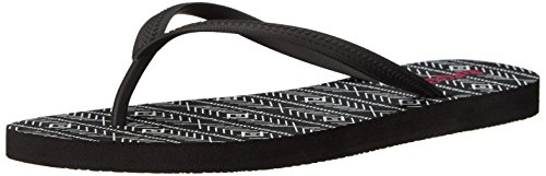 Reef - Chakras Prints, Flip-flop Donna Nero (Black/Tribal)