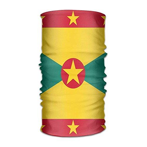 Rghkjlp Flagge von Grenada Unisex-Outdoor-Sportschal-Stirnbänder Bandana-Maske Halsmanschette Head Wrap Schweißband Headwear Design18 (Hunde Halo Kostüm)