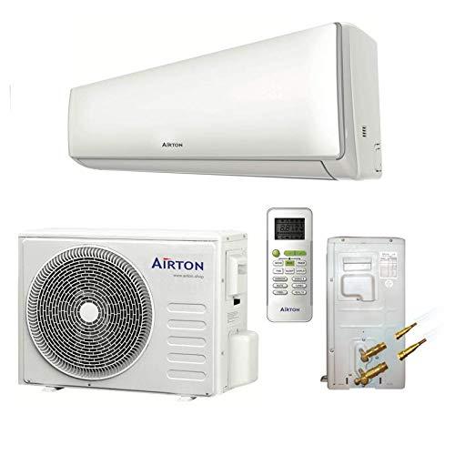 Airton Climatiseur réversible prêt à poser 2600W 9000 BTU pré-chargé en gaz R32 (PAC AIR/AIR) -...