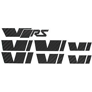 058 VRS Emblem Folien Set (Carbon Schwarz)