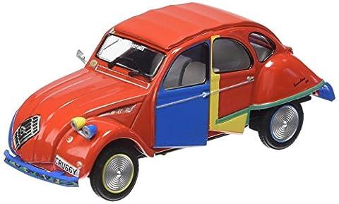 Promocar - G1719022 - Véhicule Miniature - Modèle À L'échelle - Citroën 2 Cv - Picasso Cubiste - Echelle 1/43