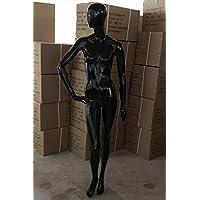 HeuSa Tech Window mannequin Female Shining Black B-stock