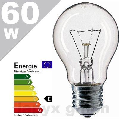 Glühbirne, E27, Birne, 100W, 1340lm, klar von Ecolux - Lampenhans.de