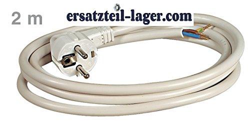 Kabel Schuko Anschlusskabel 2m 3x1,5 mm² auf Aderendhülsen Bachmann