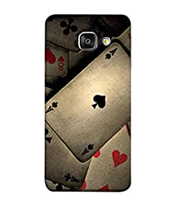 PrintVisa Gambling 3D Hard Polycarbonate Designer Back Case Cover for Samsung A9 Pro Duos (2016)