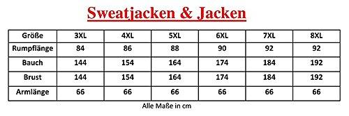 Übergrössen!!! Schicke Sommer Sweatjacke Lavecchia in Grau oder Schwarz FL12-018 Schwarz