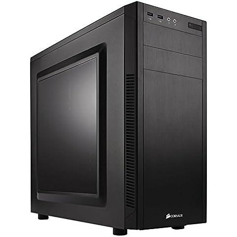 Corsair Carbide Series 100R - Caja de ordenador para PC Mid-Tower ATX con ventana, negro