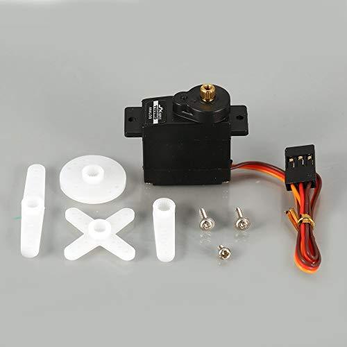 4,8 V-6 V 2,5 KG Drehmoment Analog Servo Für 1/18 RC Auto Heli Boot ()