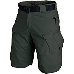 "Helikon Urban Tactical Pantalones Cortos 12"" Jungle Green Tamaño M"