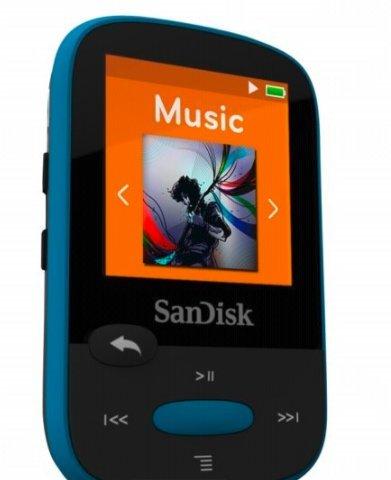 4 Gb Mp3 Sansa Clip (SanDisk Sansa Clip Sports MP3-Speler-4Gb-Zwart)