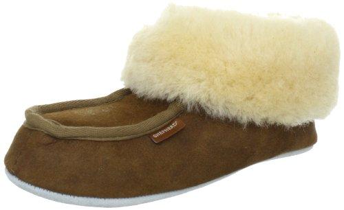 Shepherd MOA 724, Pantofole donna marrone (Brown - Braun (Antique Cognac 52))