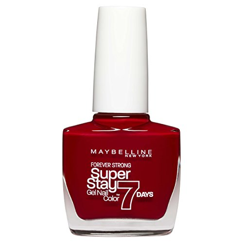 Maybelline New York Vernis à ongles Superstay Forever Strong 7jours ultra longue tenue sans lampe UV 10ml