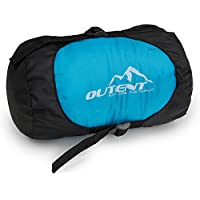"""Outent® Camping Sleeping Bag """"Halifax"""" for 1 Person Ultralight 650 Gramms 220 cm Length"""