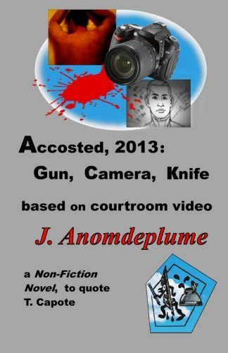 Accosted, 2013: Gun, Camera, Knife: based on courtroom video (Jodi Arias) by J. Anomdeplume (2013-05-08)