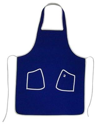 Neopren BBQ Küche Schürze-Navy Blau