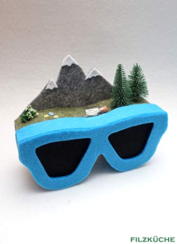 Wandern Berge Geschenke verpacken Sonnenbrille