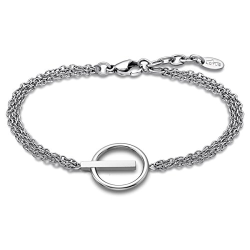 Lotus Style Bliss Edelstahl Armband LS1886-2/1 Damen Schmuck Silber D2JLS1886-2-1