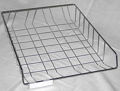 GRIESHABER Briefkorb, 2301, Metall, B4 hoch, 270x355x60mm, Chrom