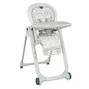 Chicco Polly Progres5 Chaise Haute avec 4 Roues Sage
