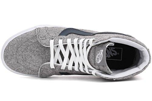 Vans Sk8-Hi Reissue Varsity Gray True White Gray/True White