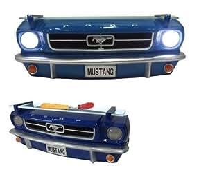 Ford Mustang 1964 1/2 avant Étagère murale 3D avec éclairage 7580–68)