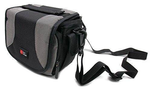Gepolsterte Tasche der Marke DuraGadget für Ihren Canon Legria HF R706 Full-HD / Canon Legria HF R76 / Canon Legria HF R78 Camcorder