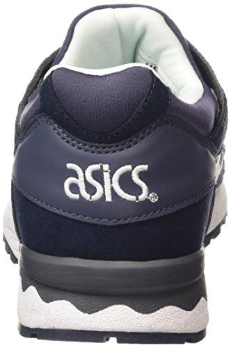 Asics Unisex-Erwachsene Gel-Lyte V Sneaker Blau (indian Ink/white 5001)