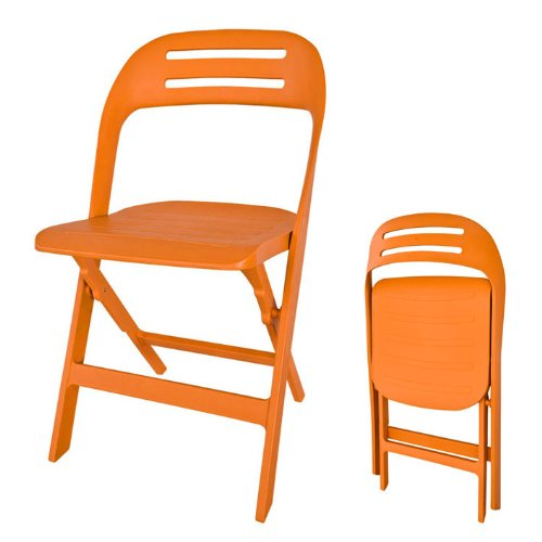 SoBuy® Sedia pieghevole , sedia da giardino con cuscino, sedia per balcone,FST13-O