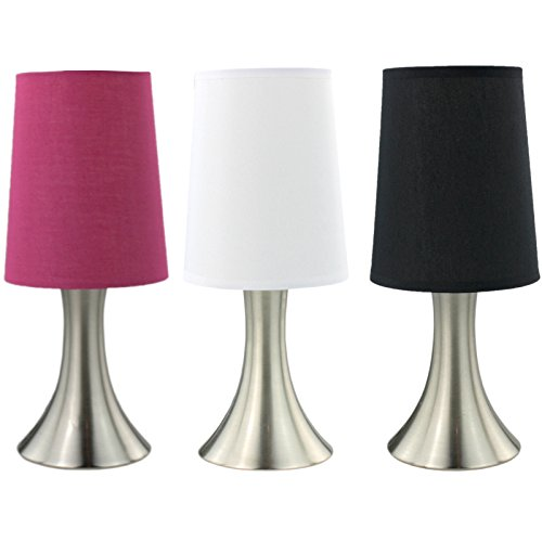 Touch Nachttischlampe Tischlampe ' Curve ' (Pink)