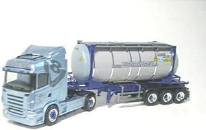 153898 - Herpa - Scania R HL Tankcontainer-Sattelzug