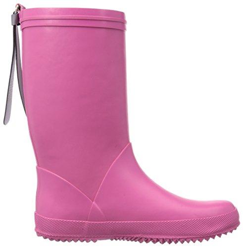 """Bisgaard RAIN BOOT """"STAR"""", Bottes en caoutchouc de hauteur moyenne, doublure froide mixte enfant Rose (14 Pink)"""