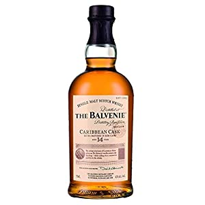 The Balvenie 14 Year Old Caribbean Cask Single Malt Scotch Whisky 70cl Bottle x 3 Pack from The Balvenie